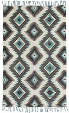 Ascot 5834 Cotton Blue Rug