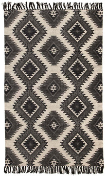 Ascot 5834 Cotton Black Rug