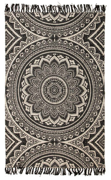 Ascot 5833 Black Cotton Rug