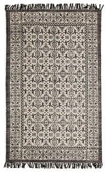 Ascot 5831 Cotton Black Rug
