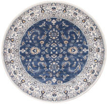 Anastasia 20 Blue White Classic 240cm Round