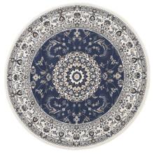 Anastasia 22 Blue White Classic 240cm Round