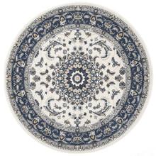 Anastasia 22 White Blue Classic 150cm Round