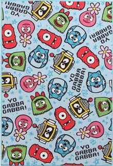 Venture Kids Yo Gabba Blue Print 100x150cm Rug