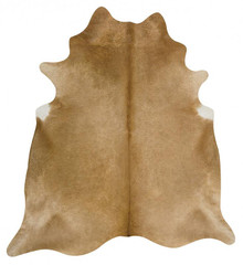 Premium Natural Cow Hide Beige