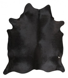 Premium Natural Cow Hide Black