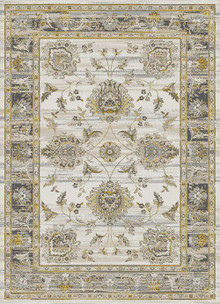 Antique Sahara 675 Gold Traditional Rug