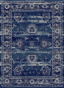Antique Sahara 675 Navy Traditional Rug