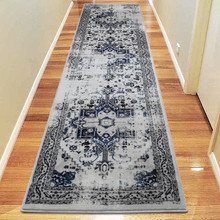 Antique Sahara 102 Blue 80x300cm Runner