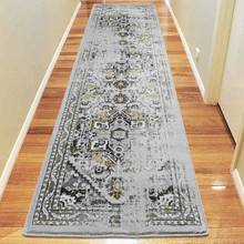 Antique Sahara 102 Gold 80x300cm Runner