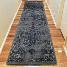 Antique Sahara 102 Grey 80x300cm Runner