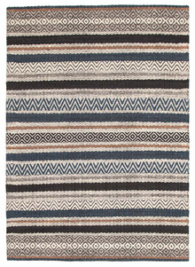 Lavista 732 Denim Wool And Viscose Rug