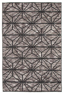 Lavista 737 Charcoal Hand Loomed Plush Rug