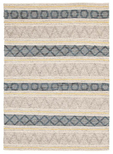 Lavista 740 Silver Wool And Viscose Rug