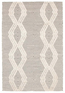 Lavista 741 Bone Wool And Viscose Rug