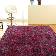 Berry Shaggy Rug