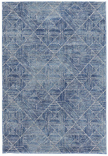 Avoca 457 Navy Wash Modern Rug