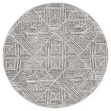 Avoca 457 Silver Wash 200cm Round Rug