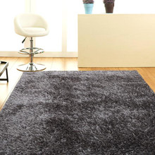 Grey Shaggy Rug