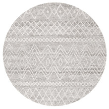 Avoca 453 Grey Wash 200cm Round Rug
