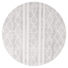 Avoca 450 Grey Wash 240cm Round Rug