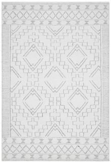 Enzo 802 Ivory Designer Wool Rug
