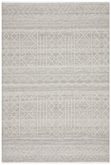 Enzo 807 Natural Designer Wool Rug