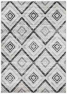 Kansas 616 Black Modern Decor Rug