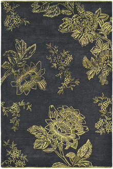 Wedgwood Tonquin Charcoal Luxury Rug
