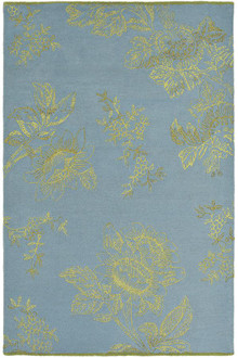 Wedgwood Tonquin Blue Luxury Rug