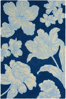 Wedgwood Vibrance Navy Luxury Rug