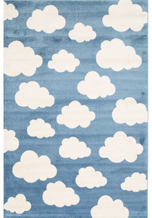 Piccolo 924 Blue Cloud Kids Rug