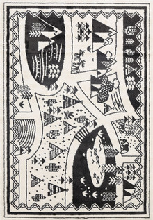 Piccolo 925 Village Kids Rug
