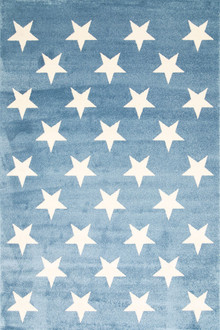 Piccolo 927 Blue Star Kids Rug
