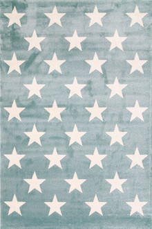 Piccolo 927 Green Star Kids Rug