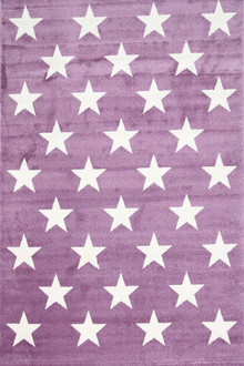 Piccolo 927 Purple Star Kids Rug