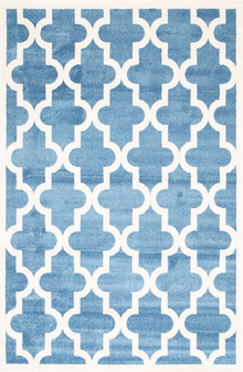 Piccolo 518 Blue Fun Kids Rug