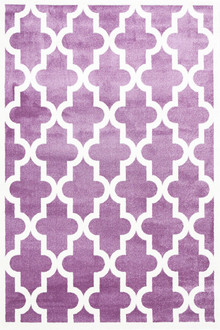 Piccolo 518 Purple Fun Kids Rug