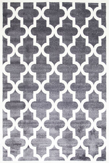 Piccolo 518 Dark Grey Fun Kids Rug