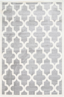 Piccolo 518 Light Grey Fun Kids Rug