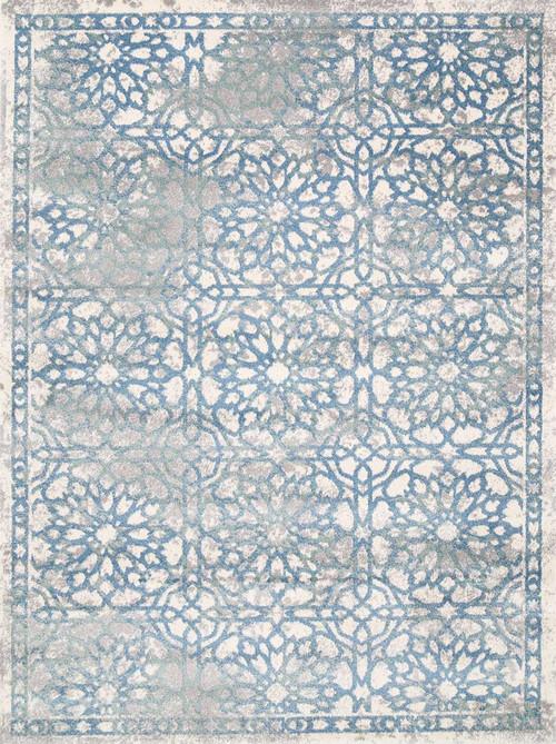 Blue Designer Rug