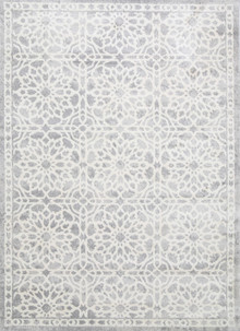 Light Grey Designer Rug