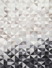 Grey Modern Floor Rug