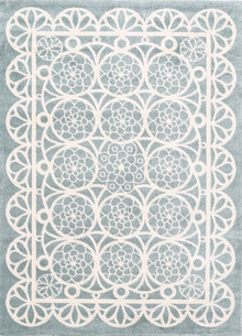 Piccolo Lace Green Kids Rug