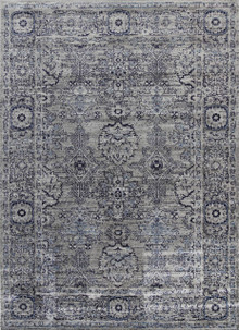 Arya 6890 Dark Grey Traditional Rug