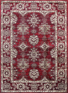 Arya 6890 Red Traditional Rug
