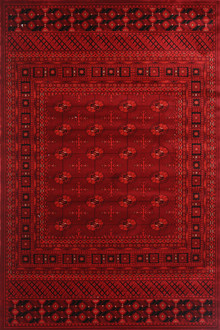 Afghan 2888 Red Traditional Rug