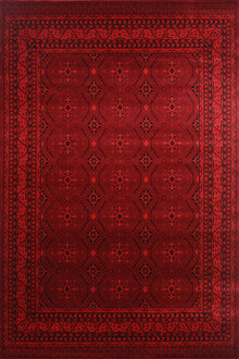 Afghan 6919 Red Traditional Rug