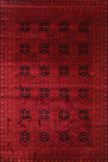 Afghan 7145 Red Traditional Rug