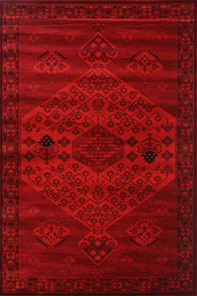 Afghan 7146 Persian Red Rug
